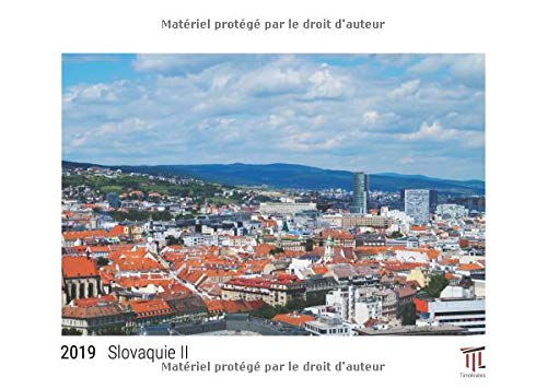 Slovaquie II 2019 édition blanche calendrier mural timokrates calendrier photo c par Timokrates Verl