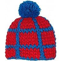 RED HOT® GURU Cappello di lana - Fatti a mano - Unica (Berretto Toque), Red Hot Farben_2:GURU 1.19