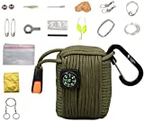 The Friendly Swede Survival-Pod - Survival-Kit inklusive Drahtsäge