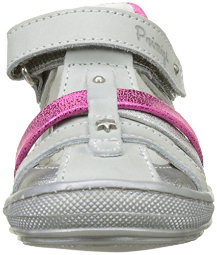 Primigi Pbd 7068, Sandales Bébé Fille Argent (Alluminio/Nuvol)