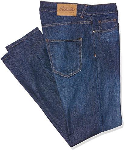 Frankie Morello Aberdeen, Jeans a Gamba Dritta Uomo, Blu (Blu Denim), 44 (Taglia Produttore:31)