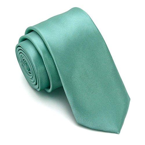 ZSRHH-Neckchiefs Halstücher Herren Krawatte Trendy Gentleman Suit Frische grüne Minze grüne Schmetterling Fliege Tasche Handtuch Set - Unternehmen Minze