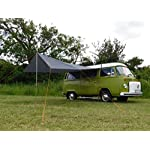 DEBUS Campervan Sun Canopy Awning - Anthracite Grey 16