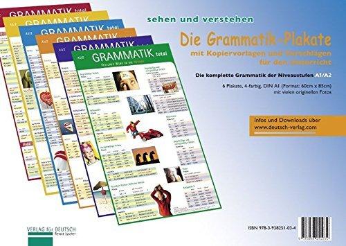 (Die Grammatik-Plakate: Die komplette Grammatik der Niveaustufen A1/A2. Ãœbungsheft und 6 Plakate by Renate Luscher (2009-09-01))