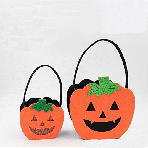 Zantec neue moderne niedliche nicht gewebte Stoff Halloween Lächeln Hulk Kinder Handtasche Kinder Süßigkeiten Biskuit Taschen Tub (Handtasche Neue Gesteppte)