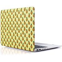 RENPHO Caja dura plástica del tacto suave para el aire de Macbook 13 pulgadas A1369 / A1466 Funda - Piña
