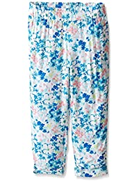 Nautica Girls' Light Weight Pant with Rolled Cuff