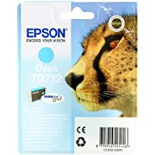 Epson Original T0712 Durabrite Cyan Ink Cartridge