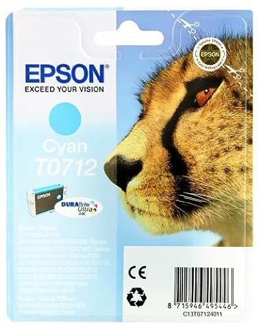 Epson Cartouche - Epson T0712 Cartouche d'encre d'origine DURABrite Ultra