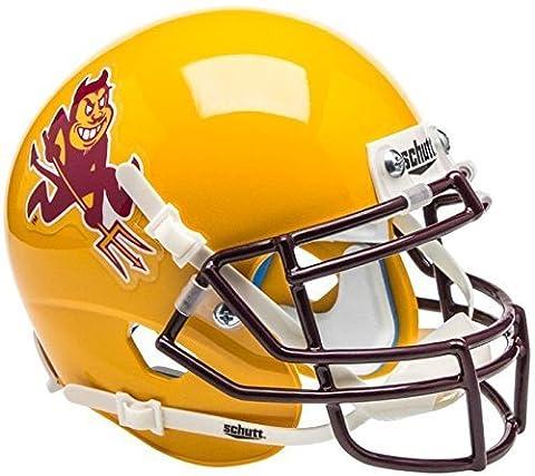 ARIZONA STATE SUN DEVILS NCAA Schutt XP Authentic MINI Football Helmet ASU (SPARKY) by Schutt