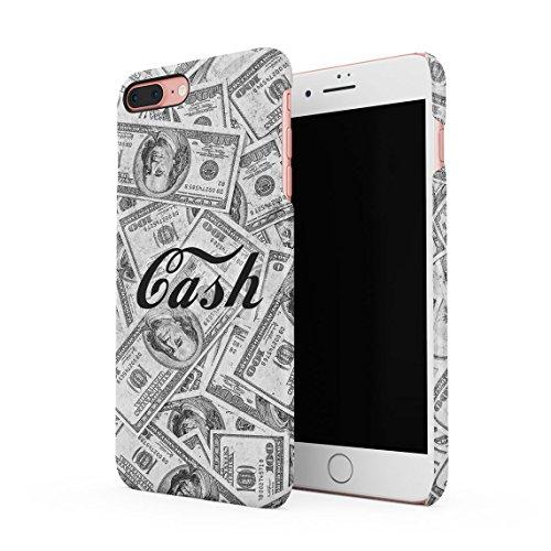 Easy Money Cash Dollar Rolls Franklin Benji Billionaire Dünne Rückschale aus Hartplastik für iPhone 7 & iPhone 8 Handy Hülle Schutzhülle Slim Fit Case cover Cash Dollars