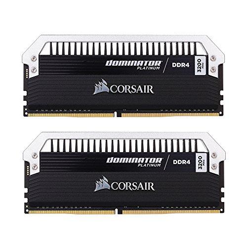 Docooler Korsar Dominator Platin Serie 16 GB (2 x 8 GB) DDR4 DRAM 3200 MHz C16 (PC4-25600) 288-Pin Erinnerung Kit CMD16GX4M2B3200C16