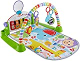 Fisher- Deluxe Kick and Play Piano Gym for Kids (FVY57)