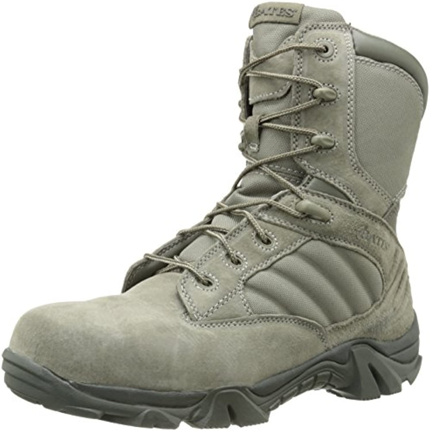 Bates Men's GX 8 Comp Toe Side Zip Work Boot