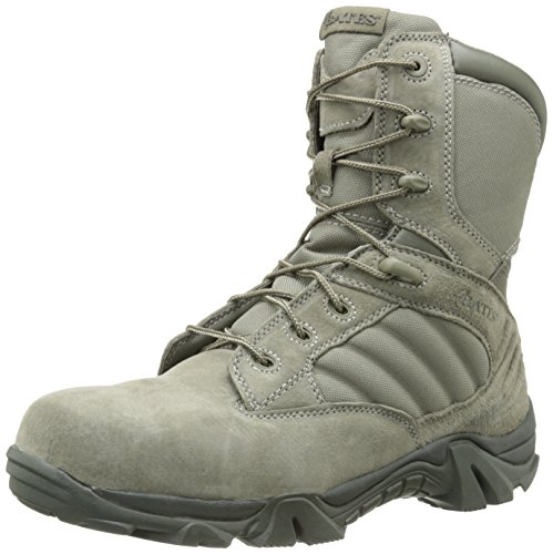 Bates Men's GX-8 Sage 8 Inch Comp Toe Zip Uniform Boot, Sage, 15 M US Bates Composite-boot