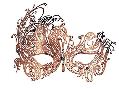 all Venezianische Maske mit Strass (Paare Cosplay Kostüme)