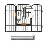 Songmics Welpenauslauf für Hunde Kaninchen 80 x 60 cm PPK86G - 6