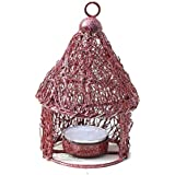 APKAMART Handicraft Votive Candle Holder - Hut Design - 5.5 Inch - Decorative Tea Light Candle Stand For Table Decor, Home Decor, Room Decor And Gifts