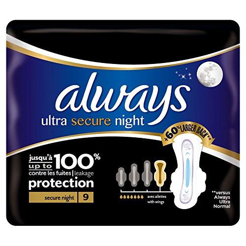 siempre-toallas-sanitarias-noche-seguro-ultra-con-alas-paquete-de-9-individuales-por-paquete