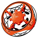 Xmiral Drones L101 Flying ovni Mini Drone l'induction Hover rc Quadcopter Jouet Don Avion Hélicoptère (Orange)...