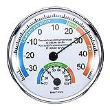Thermomètre Hygromètre Météo pour Intérieur Extérieur Bureaux Laboratoires...