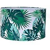 Casa Décor Tropical Flash Drum Lamp Shade Living Room, Bedroom, Study, Dining Room Decor Lighting