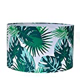 #5: Casa Décor Tropical Flash Drum Lamp Shade Living Room, Bedroom, Study, Dining Room Decor Lighting