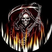 BaZhaHei de Pintura, Hoz de la muerte de Halloween 5D bordado Pinturas Rhinestone pegado DIY