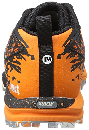 Merrell All Out Crush Tough Mudder, Chaussures de Trail Femme Multicolore (Orange)
