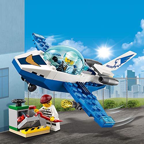 LEGO City - Le jet de patrouille de la police - 60206 - Jeu de...