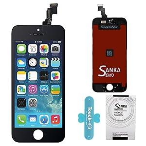 SANKA LCD Touchscreen Display Ersatz Bildschirm Front Komplettes Glas für Apple iPhone 5C