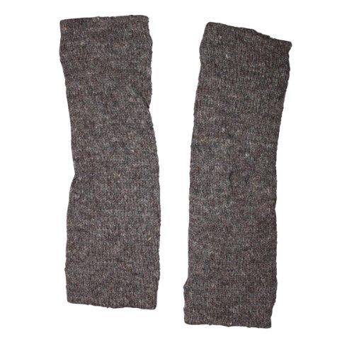 Freak Scene® Warmhaltende Arm und Bein Stulpen, Farbe: Beinstulpen grau