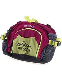 Zorbes Hewolf 1634 Unisex Outdoor Waterproof Fanny Pack Multi-Function Mountaineering Waist Bag