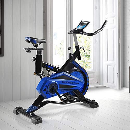 ECO-DE Bicicleta Spinning Shark. Uso semiprofesional