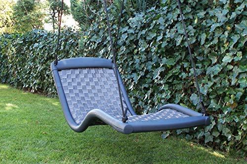 Relaxschaukel Sessel-Liegeschaukel DREAMLINER STANDARD (170×66 cm) (schwarz)