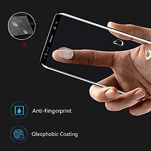 Pellicola Protettiva Samsung Galaxy Note 8, AKPATI HD ultra-chiaro Protezione Galaxy Note 8 Vetro Temperato Compatibile con Custodia Pellicola Protettiva per Samsung Galaxy Note8 - Trasparente