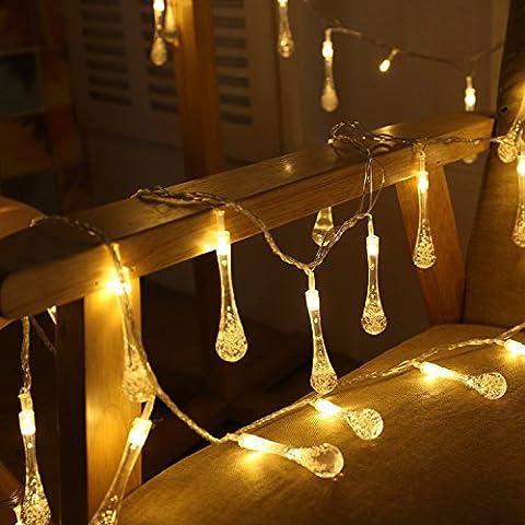 Uping Solar powered LED Fairy Lights 8 Mode String light