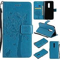 ZTE AXON 7 Hülle Blau im Retro Wallet Design,Cozy Hut ZTE AXON 7 Hülle Leadertasche Premium Lederhülle Flip Case... preisvergleich bei billige-tabletten.eu