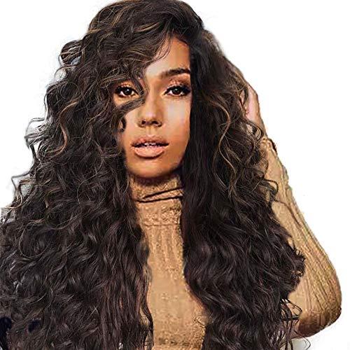 feiXIANG haute qualité Perruque Cosplay Pour femmes Perruque Cheveux ondulés Extensions de cheveux Long Complète bouclé ondulé Chaleur resistant Synthetique