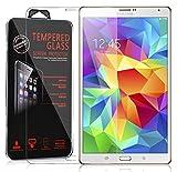 Cadorabo Pellicola Protettiva per Samsung Galaxy Tab S (8,4 Zoll) in Elevata TRASPARENZA - Vetro Temprato Blindato per Display 0,3mm con Angoli Arrotondati
