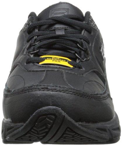 Fila di memoria turno di lavoro antiscivolo scarpe da lavoro Blk/Blk/Blk