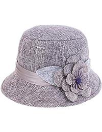 Gorros Sombrero De Playa De Verano Mujer Sombrero De Cubo Bastante para  Sombrero De Paja Sombrero De Verano Sombrero para El Sol… 9448b65dec1c