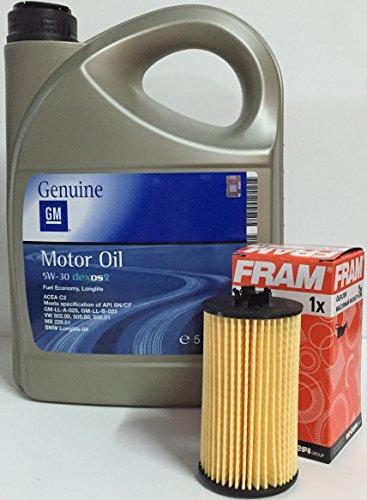 gm-general-motor-olio-motore-5w-30-5-litri-filtro-olio-fram-ch10246eco-per-motori-benzina-12i-16-v-1