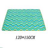HWF Couvertures de pique-nique En Plein Air Oxford Cloth Picnic Mats Housse Imperméable À L'eau Machine Lavable Sleeping Pad Tent Pad 120 * 150CM ( Couleur : #7 , taille : 120*150CM )