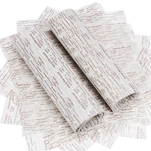 Características: Impermeable, antigrasa, papel antiadherente. Adecuado para alimentos, tartas, regalos, artículos de papelería y envoltorios. Hermoso papel y disfruta de tu propio estilo. Especificaciones: Material: papel de cera apto para uso alimen...