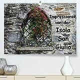 Impressionen von der Isola San Giulio(Premium, hochwertiger DIN A2 Wandkalender 2020, Kunstdruck in Hochglanz): Ein kleiner Rundgang auf der Isola San Giulio (Monatskalender, 14 Seiten )
