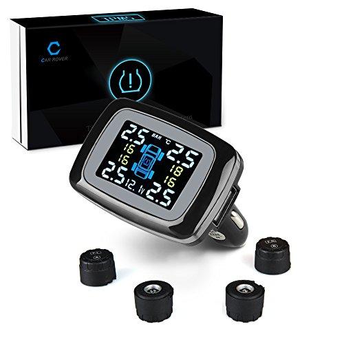 Car Rover® Sensore Pressione Pneumatici, TPMS Sistema di sicurezza di allarme senza fili( Sensore esterno)