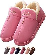 Slippers Indoor Women's House Outdoor Men's Memory Foam Moccasin Slip