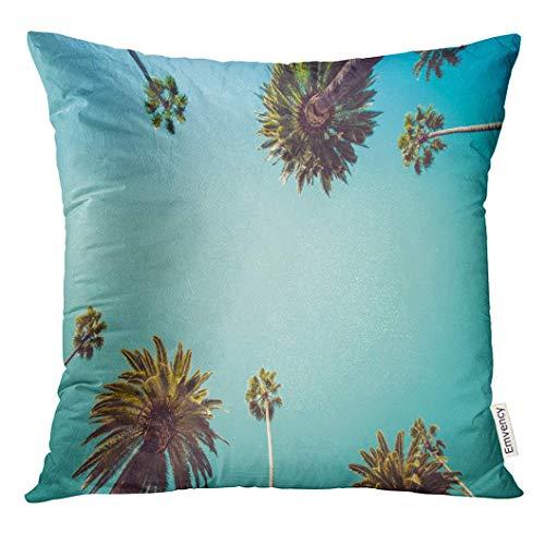 Beverly Windows (Throw Pillow Cover Orange Los Vintage Rodeo Drive Beverly Hills Captivating Crown Liked Palm Trees California Decorative Pillow Case Home Decor Square 18x18 Inches Pillowcase)