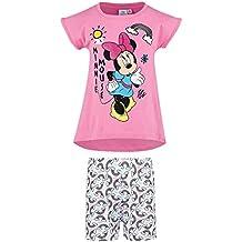 Disney Minnie Chicas Pijama mangas cortas - fucsia